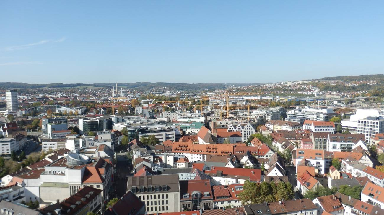 Münsterblick nach Nod-West